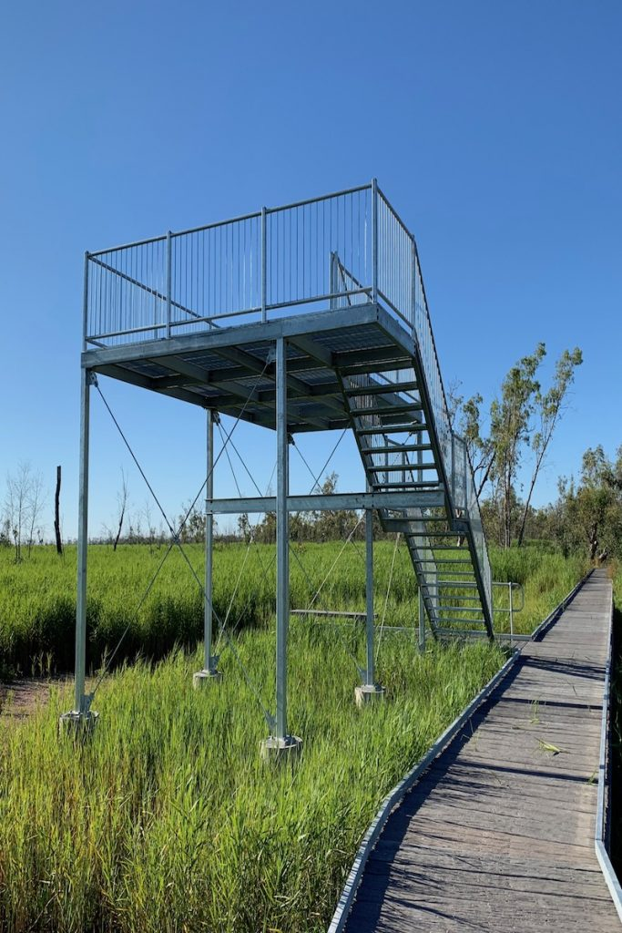 Burrima observation tower